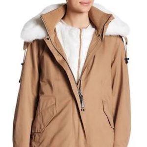 NWT Derek lam coat with vest